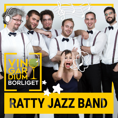 Ratty Jazz Band • péntek • 16:00